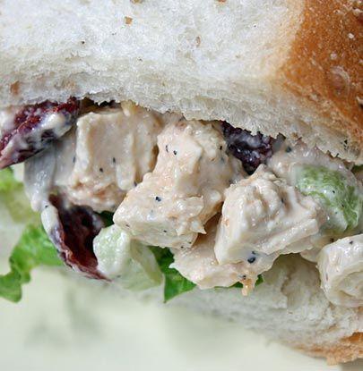 Cranberry Walnut Chicken Salad   Simple Dish   Quick, Easy, & Healthy ...