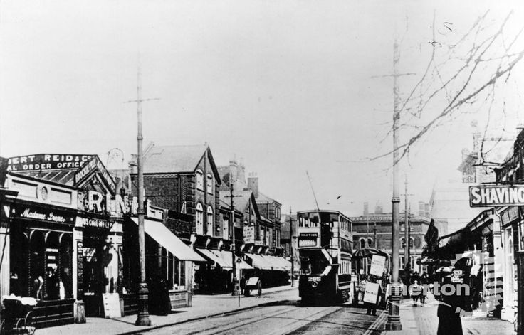 Worple Road, Wimbledon - Merton Memories Photographic Archive