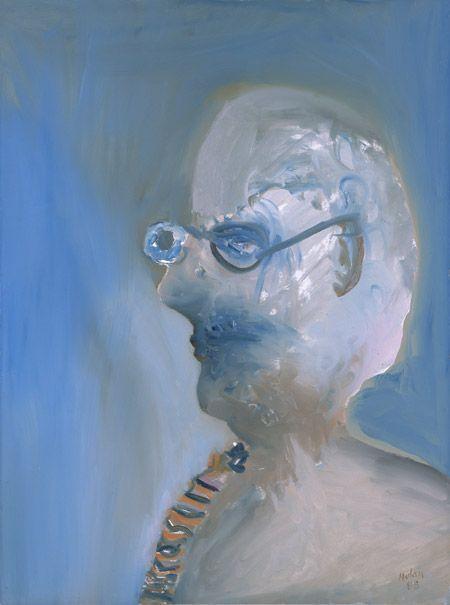 #SelfPortrait by Sidney Nolan 1988