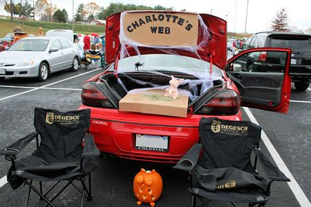 charlottes web trunk
