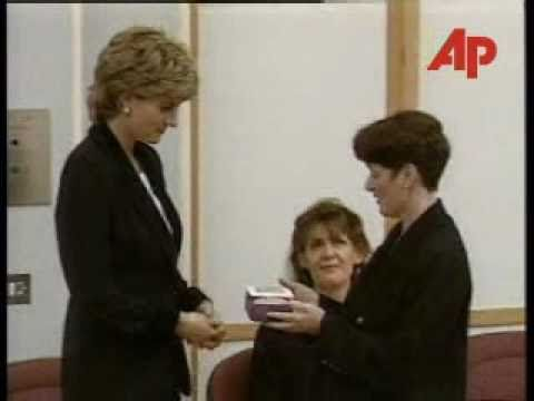 The Princess of Wales arrived at Broadmoor Hospital in Southern England. Diana, patron of the British mental health charity Turning Point, was opening a therapy unit and a centre for research into psychiatric disorders linked with violence. Broadmoor, Berkshire - 14 November 1995