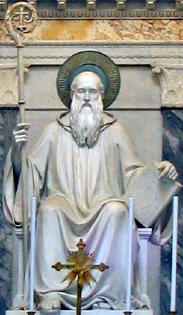 a biography of st benedict of nursia A life of saint benedict after founding twelve communities of monks at subiaco, italy, benedict of norcia (480 ad - 21 march 547) traveled to montecassino where he.
