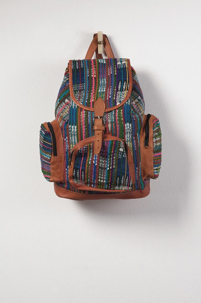 El Huipil Tribal Backpack - Stripe