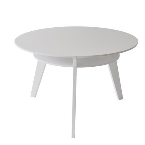 Amanda lågt vitt bord - Nordic Design Collective