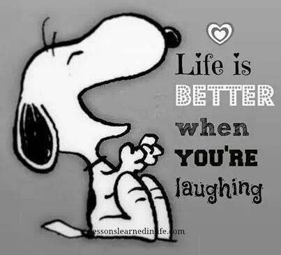 La vie est meilleure quand on rit ! <3