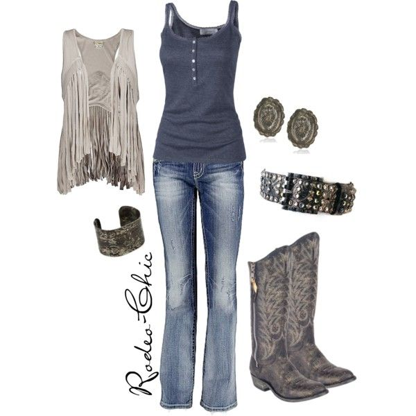 On the Road Again by rodeo-chic on Polyvore featuring Fat Face, Daytrip, Miss Me, Old Gringo, Kippys and country