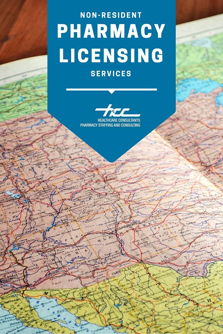 NON-RESIDENT PHARMACY LICENSING SERVICES. Shipping prescriptions across state lines can be tricky without the right permit. You can trust that the experts at HCC will keep you on the right track in the application processes for all 50 states.