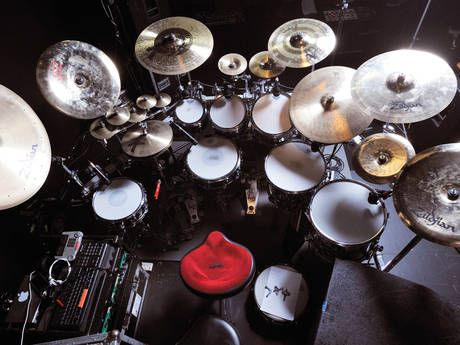 Gavin Harrisons Drum Setup