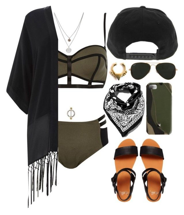 """""""COACHELLA: Weekend 1, Day 1"""" by thisistheend ❤ liked on Polyvore featuring River Island, Shellys, Kenneth Cole, Topshop, Valentino, Ray-Ban, Mint Velvet, Urban Renewal, Forever 21 and modern"""