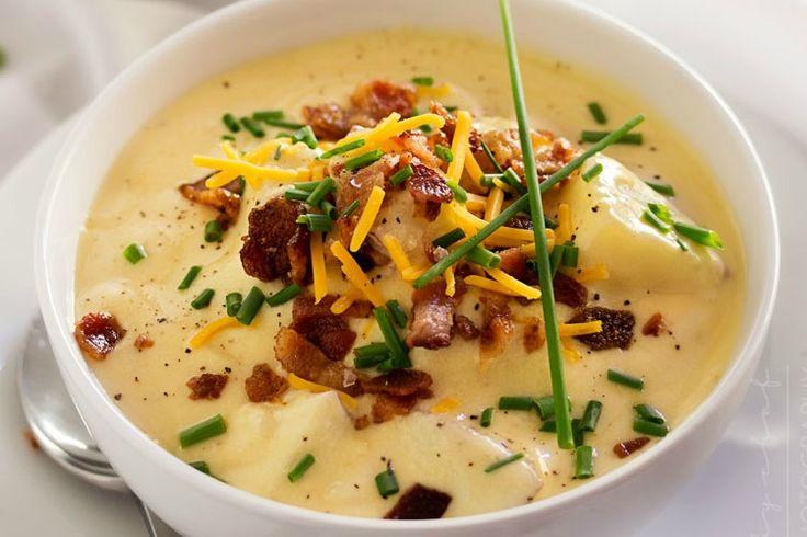 Copycat Loaded Baked Potato Soup Recipe on Yummly. @yummly #recipe