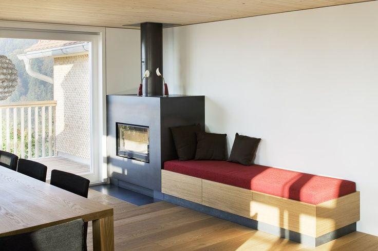 ofenbank cerca con google fireplacees pinterest ofen wohnzimmer und architektur. Black Bedroom Furniture Sets. Home Design Ideas