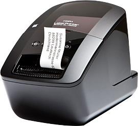 Nieuw Netwerk Labelprinter voor DK labels en tapes van 12 tot 62 mm - 300 dpi - Wireless     - € 155,49