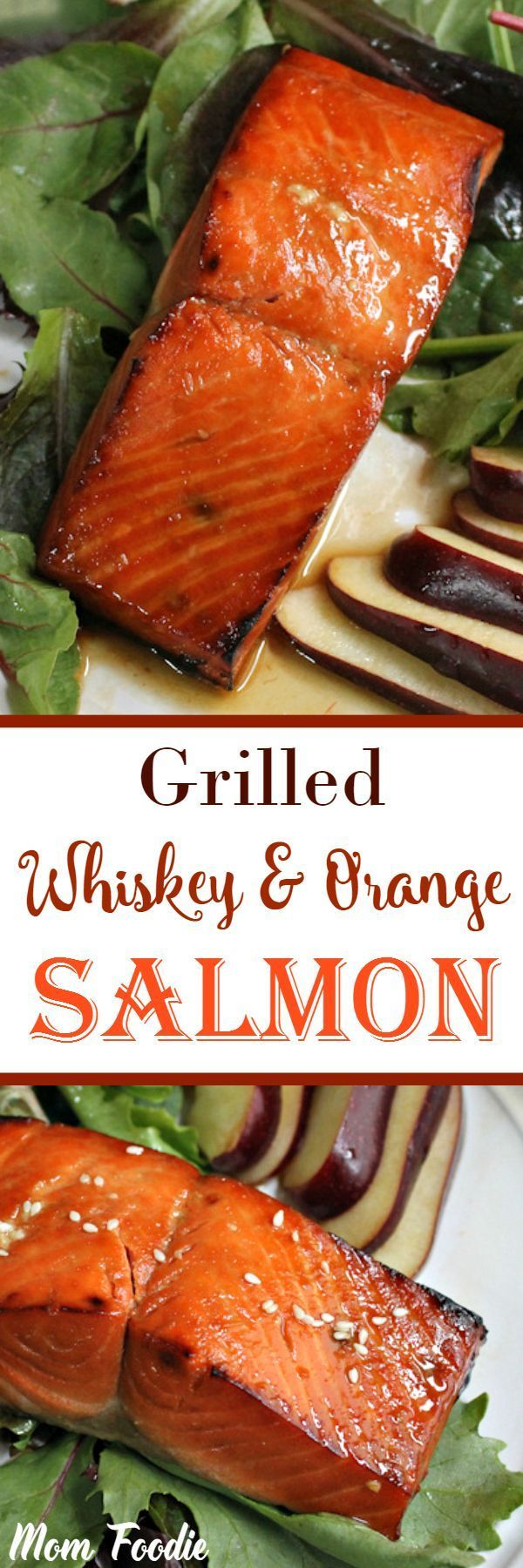 Whiskey Orange Salmon                                                                                                                                                                                 More