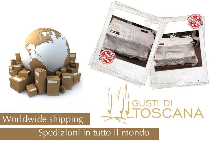 Gusti di Toscana si apre a tutto il mondo! Spedizioni, anche di grandi dimensioni e peso, a vostra disposizione! http://www.gustiditoscana.it/ #shipping #food#madeinitaly#Toscana#madeintuscany