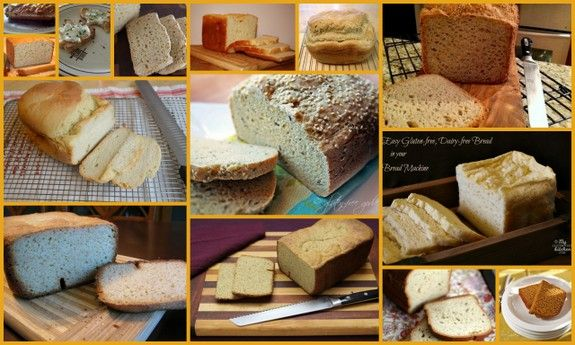 A Bountiful Bread Basket, Part 3:  Top 20 Gluten-Free Bread Recipes Made in a Bread Machine, Plus More Info and Tips on Bread Machines #glutenfree