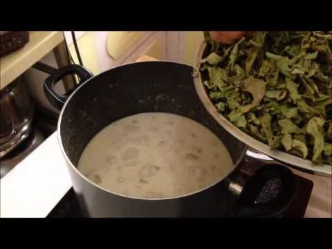 how to cook laing with daing