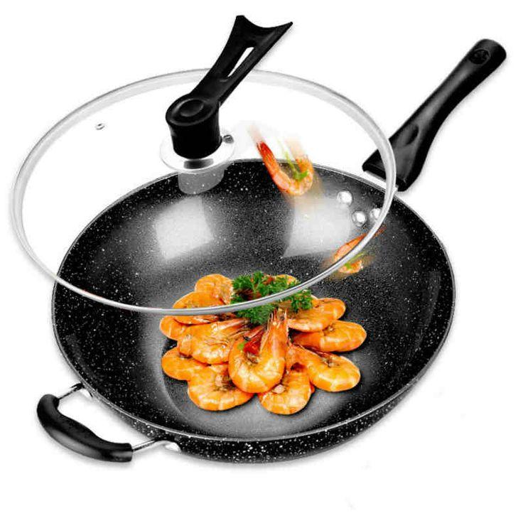 Не 32см антипригарной сковороды Maifanshi миссис Урбан не дымит антипригарные вки плиты общей посуду -tmall.com Lynx