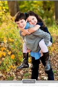 Photo goes to...fall what to wear ideas, family but I like the idea of all four kids like this 2x2