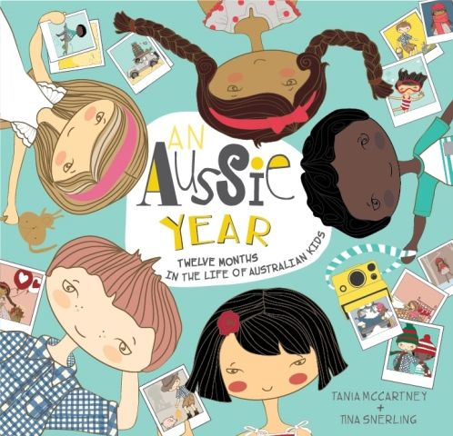 An Aussie Year  written by Tania McCartney and illustrated by Tina Snerling is a perfect book to read in the lead up to Australia Day. Featuring a set of five Aussie children, this is a picture book for 6 to 10 year olds exploring twelve months in the life of Australian children.