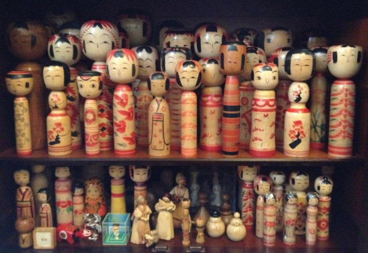 """Kokeshi""  This is a collection of home"