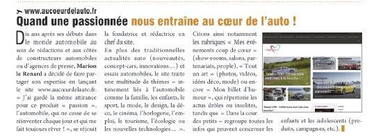"""#blog La bonne surprise du jour, c'est cette belle parution dans """"La Tribune des Auto-Ecoles"""" ! #MerciMerciMerci"""