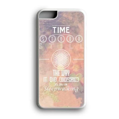 Sleep Walking Lyrics Bmth Sempiternal Album Custom for iPhone Case and Samsung Case