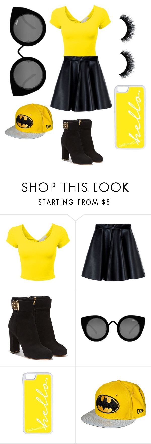 """Untitled #153"" by cintia2019 ❤ liked on Polyvore featuring MSGM, Salvatore Ferragamo, Quay and CellPowerCases"