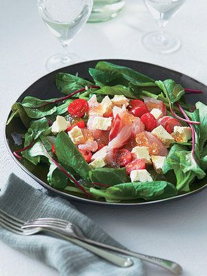 【ELLE a table】パニールとトマト、白身魚のサラダレシピ|エル・オンライン