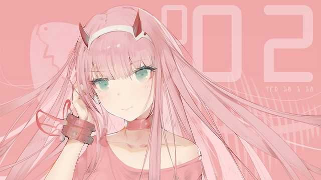 Zero Two Darling In The Franxx Darling In The Franxx Anime Wallpaper Anime Computer Wallpaper