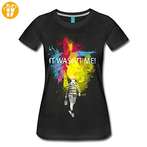Streetart It Wasn't Me! Frauen Premium T-Shirt von Spreadshirt®,