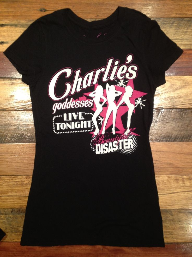 Charlies Goddess Womens Tee|SubCulture Clothing Store