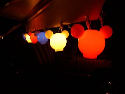 Mickey Lanterns...So going to make these for our camper/awning!