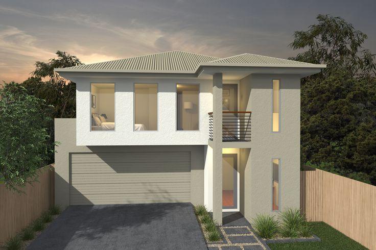 Costa Home Designs  Sunshine Coast Home Builders  ARGENTO253  Classic Facade