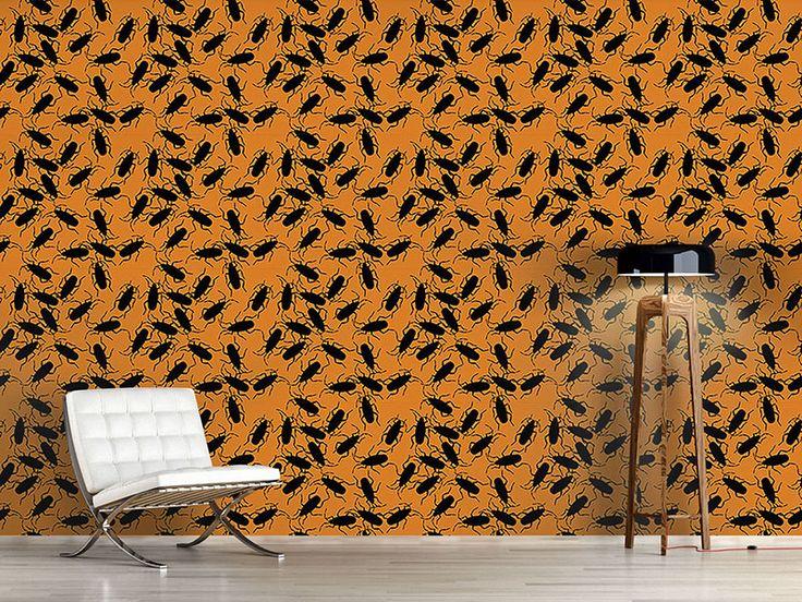Design #Tapete Die Kakerlaken Gefahr