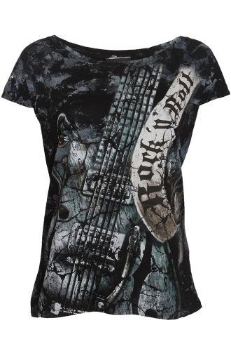 Alchemy England Rock N Roll Gretsch Guitar Women 39 S T Shirt