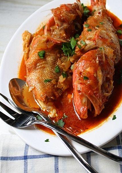 Mπουρδέτο (με Σκορπιούς) — Bourdetto (Stewed Scorpion Fish)- Kali Orexi