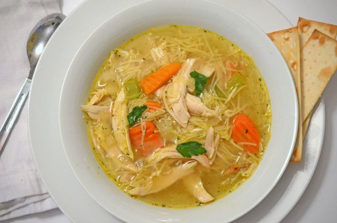 EASY CHICKEN NOODLE SOUP....Lipton soup mix is used in dips, it's used in burgers, it's used in all sorts of things. It is fast, easy and convenient.