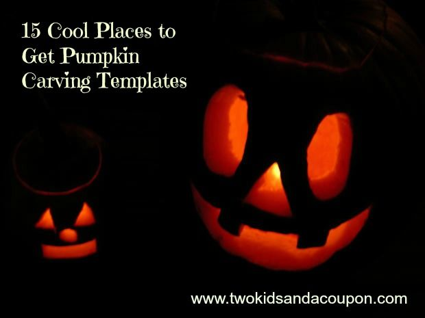 15 Cool Places to Get Pumpkin Carving Templates – Movies, Disney, Celebrities & More on twokidsandacoupon.com
