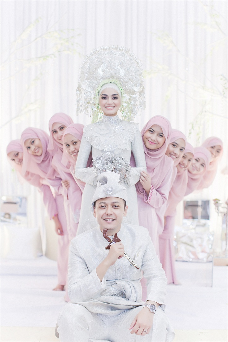 Cute and Romantic Muslim Wedding