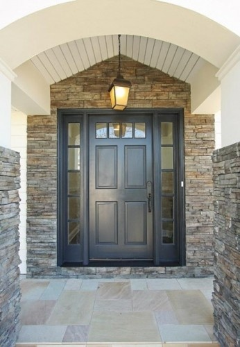 Planning to paint our front door blue - dark or royal is the question?