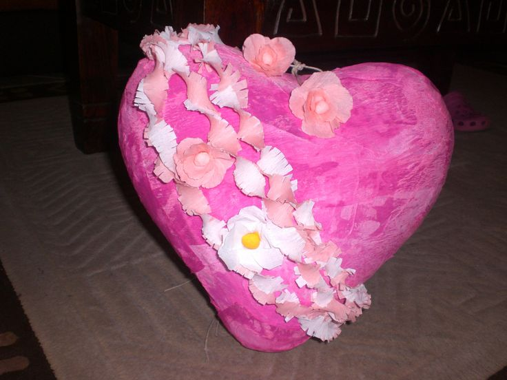 PINATA CUORE - Pinata San Valentino - Gioco Pinata - pinata cuore - pinata - pignatta cuore - gioco pinata di LECREAZIONIDIMARICA su Etsy