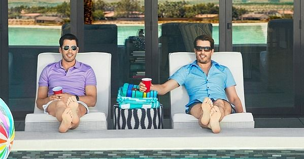 Inside The Property Brothers' Las Vegas Vacation Pad