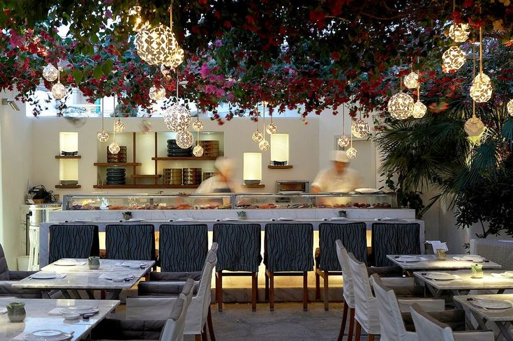 Nobu restaurant in Mykonos