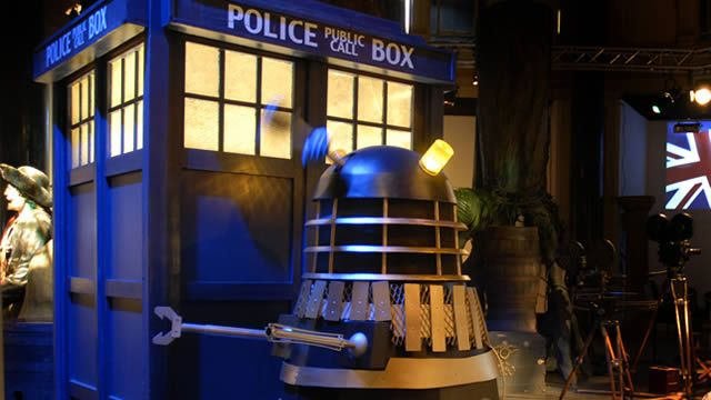 """""""Doctor Who in London: London is packed with thrills for Doctor Who fans. See the iconic locations from the show and shop for Daleks and other Doctor Who memorabilia with our handy guide."""""""