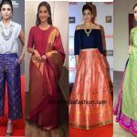 6 Wedding Outfits To Create By Recycling Old Sarees