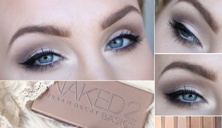 URBAN DECAY NAKED 2BASICS everyday makeup tutorial! - YouTube