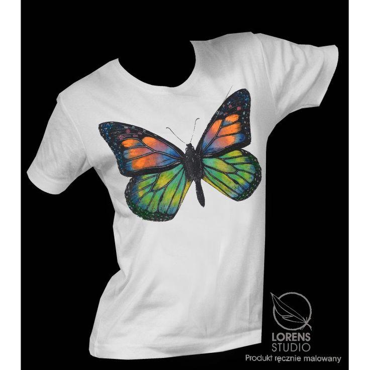 www.dizziness.pl Ręcznie malowana koszulka