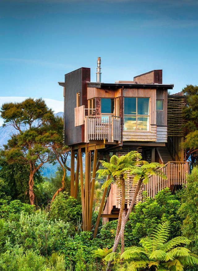 The fact that this is just one of the 25 coolest treehouses on Airbnb is mighty impressive, indeed.