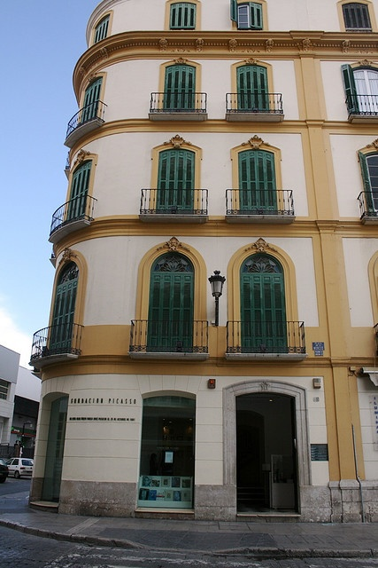 where Picasso lived in Malaga, Spain. Been there.