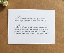 Wedding Poems Asking For Money Gifts Invitation Sample